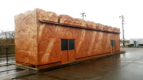 パン型の倉庫