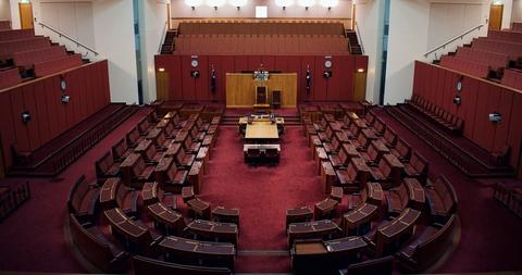 裁判所の風景
