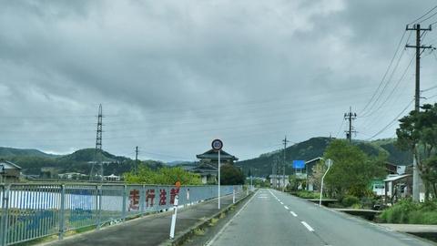 乙坂山南側 4回線が降りてきている