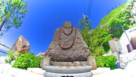 麒山和尚の石仏