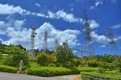 関西電力 高島変電所(クリックで拡大)