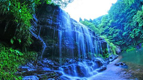 宮島峡2の滝