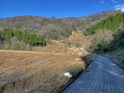 清水町からの道は眺めもよく最高